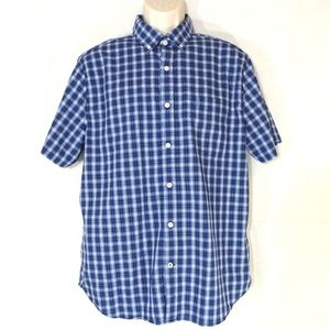 Nautica Button Down Collar Classic Fit Shirt Large